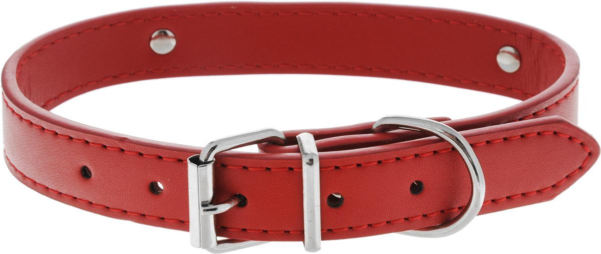 Ошейник для собак Каскад Колибри. Love, цвет: красный, ширина 20 мм, длина 45 см ошейник pet line для животных со стразами цвет красный длина 24 5 см