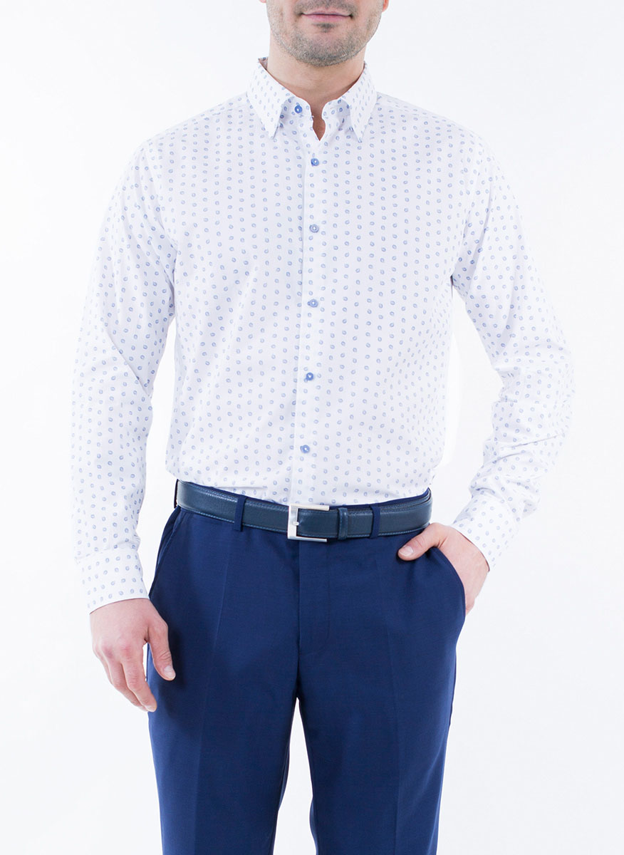 Рубашка Alfred Muller цена