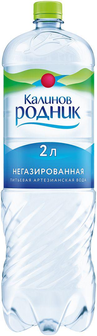 Калинов Родник Вода питьевая артезианская негазированная, 2 л