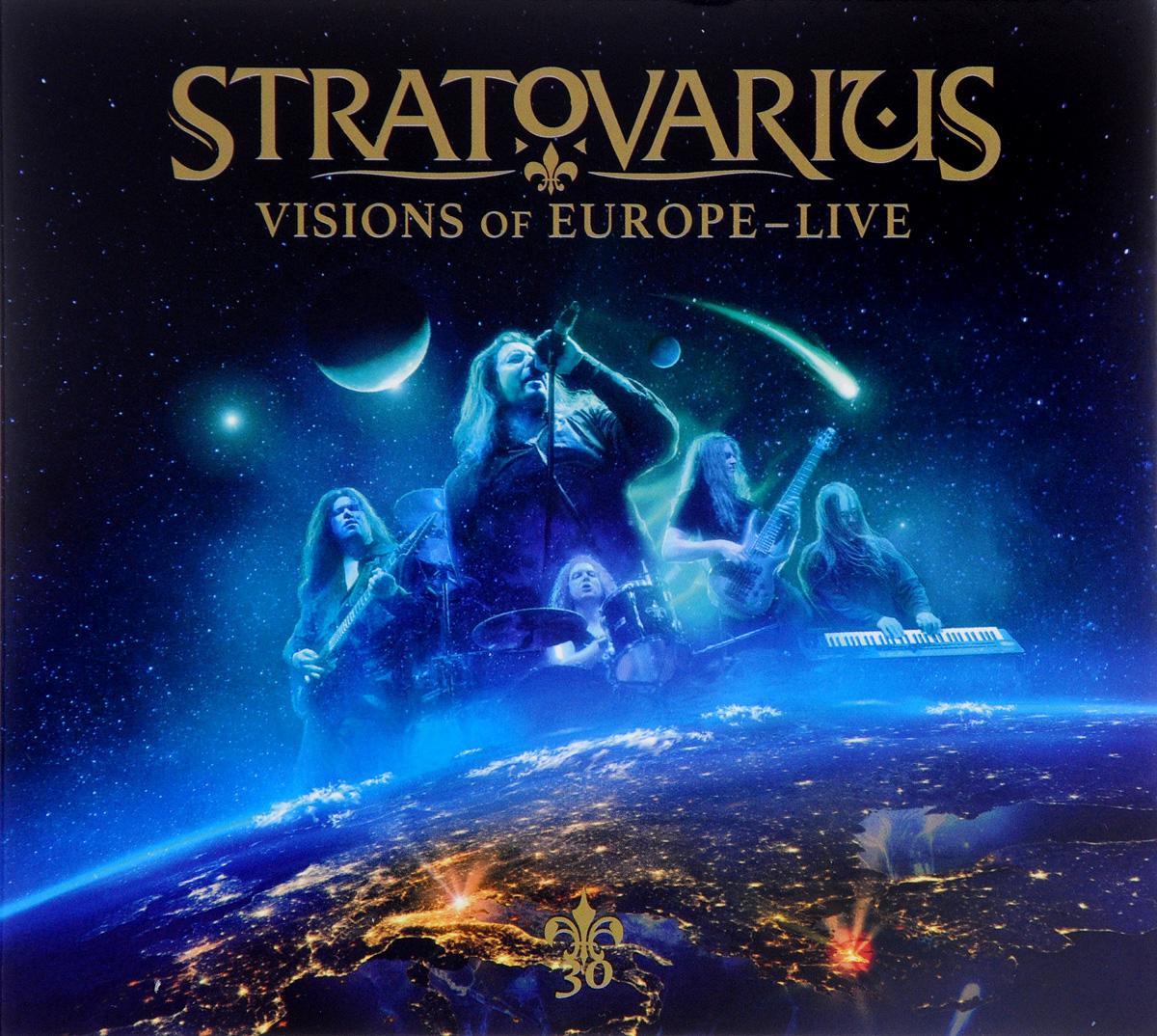 Stratovarius Stratovarius. Visions Of Europe - Live (2 CD)