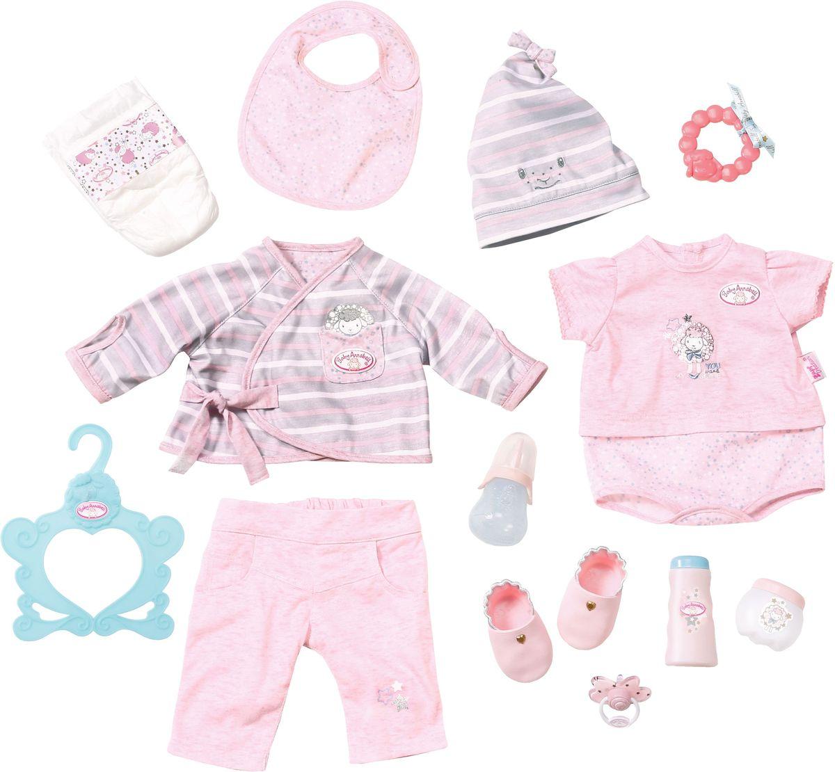 Baby Annabell Одежда для кукол Набор для младенца цена 2017