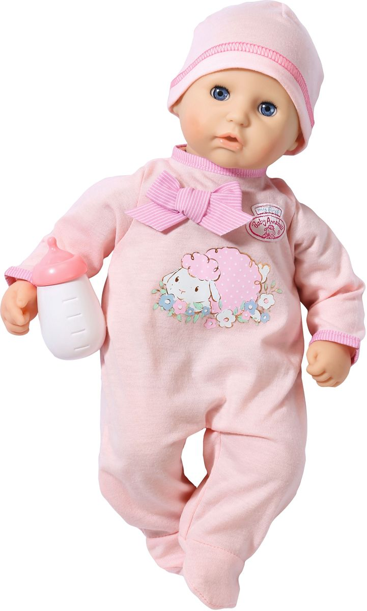 Baby Annabell Пупс My First с бутылочкой игрушка my first baby annabell кукла с бутылочкой 36 см дисплей