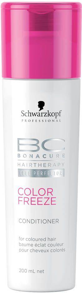 Bonacure Кондиционер Сияние Цвета Color Freeze Conditioner 200 мл кондиционер для волос schwarzkopf professional bonacure color freeze сияние цвета 500 мл