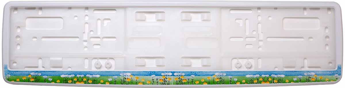 Рамка для номера Концерн Знак Полевые цветы, З0000016242