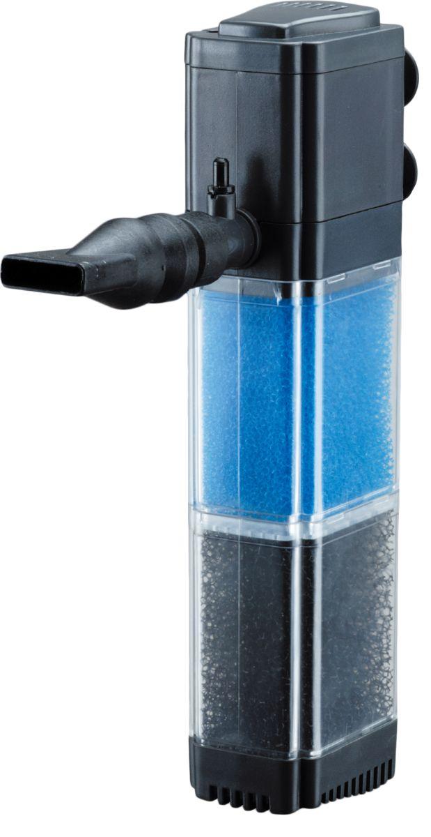 Фильтр водяной Barbus, внутренний, 2-камерный, 880 л/ч, 12 Вт фильтр для аквариума barbus wp 310f внутренний с регулятором и флейтой 200 л ч