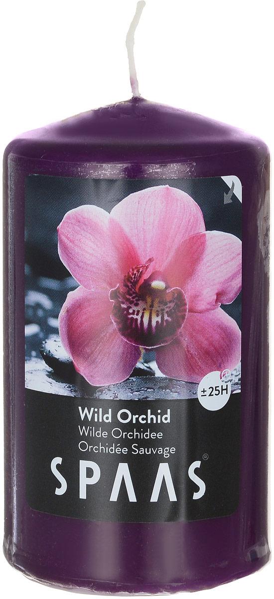 Свеча ароматизированная Spaas Дикая орхидея, высота 10 см свеча ароматизированная spaas дикая орхидея высота 15 см