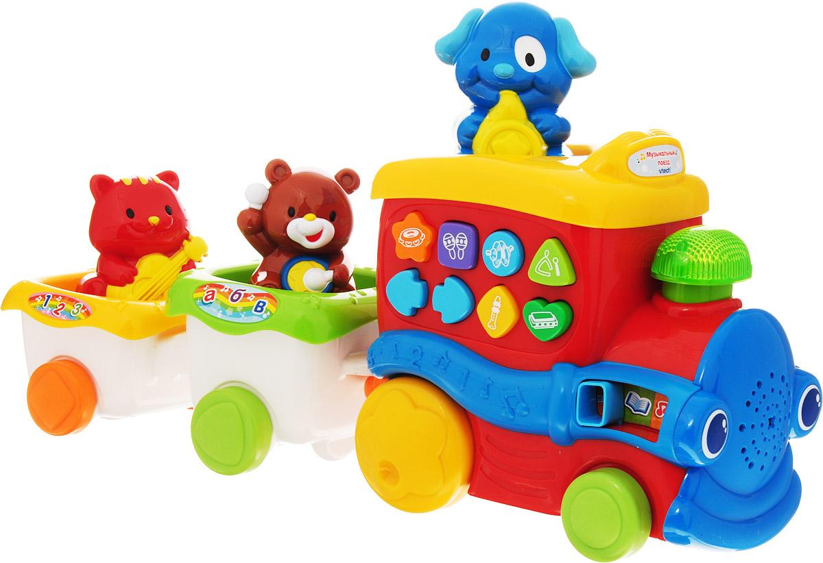 Vtech Развивающая игрушка Музыкальный поезд vtech vtech развивающая игрушка осьминог