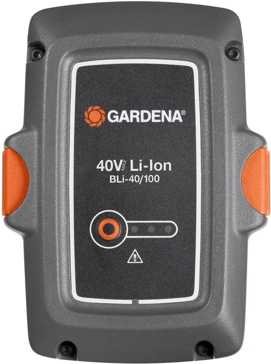 Аккумулятор Gardena BLi-40/100, литий-ионный аккумулятор gardena bli 40 160 литий ионный