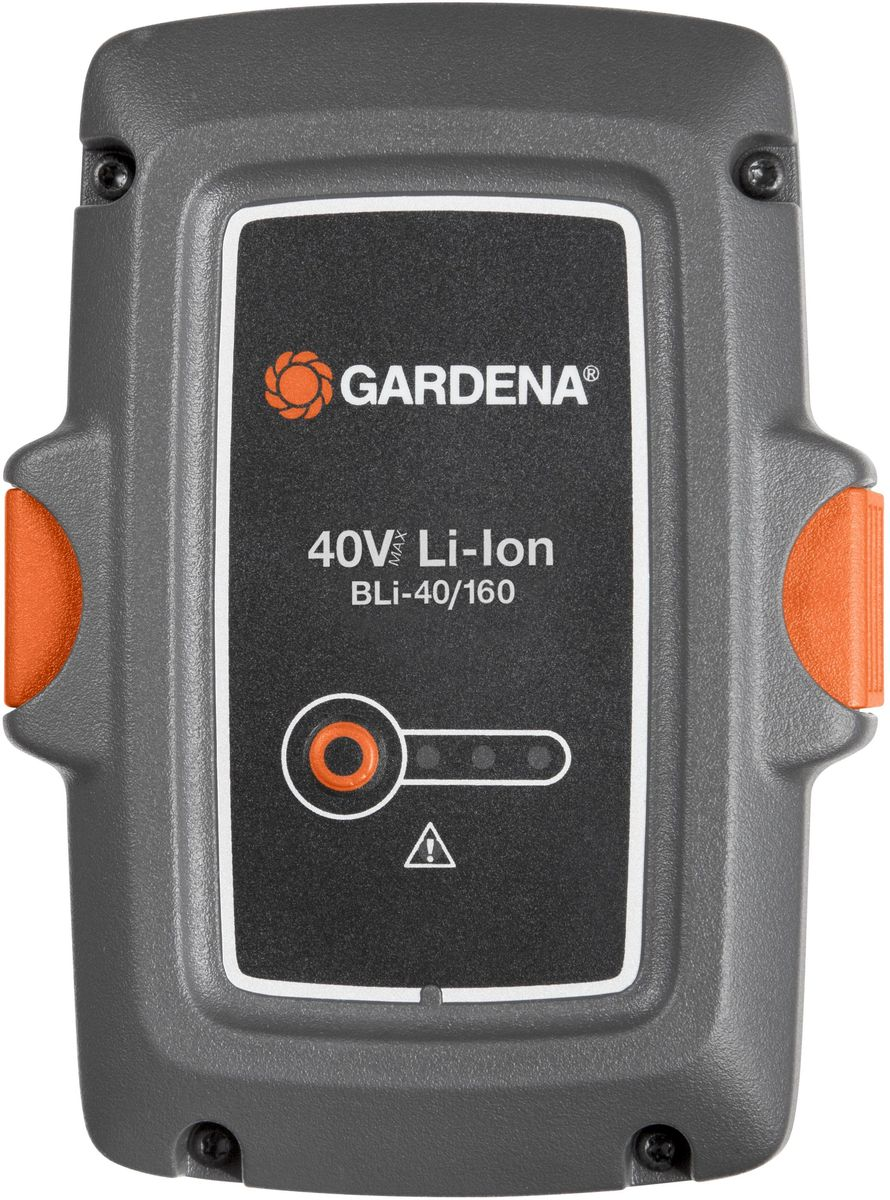 Аккумулятор Gardena BLi-40/160, литий-ионный аккумулятор gardena bli 40 160 литий ионный