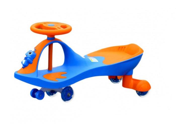 Bradex Машинка детская Бибикар-Лягушонок с полиуретановыми колесами цвет синий