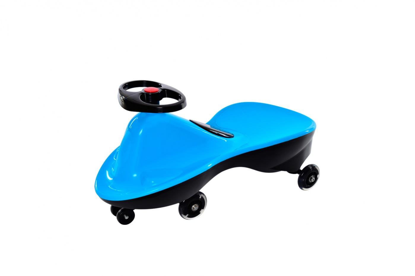 Bradex Машинка детская Бибикар Спорт с полиуретановыми колесами цвет голубой