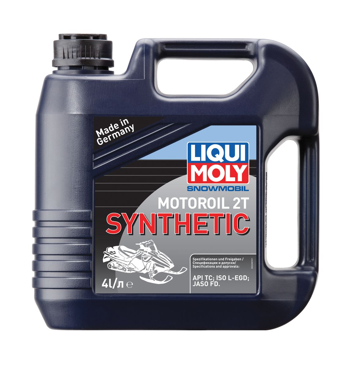 "Масло моторное Liqui Moly ""Snowmobil Motoroil 2T Synthetic"", синтетическое, 4 л"