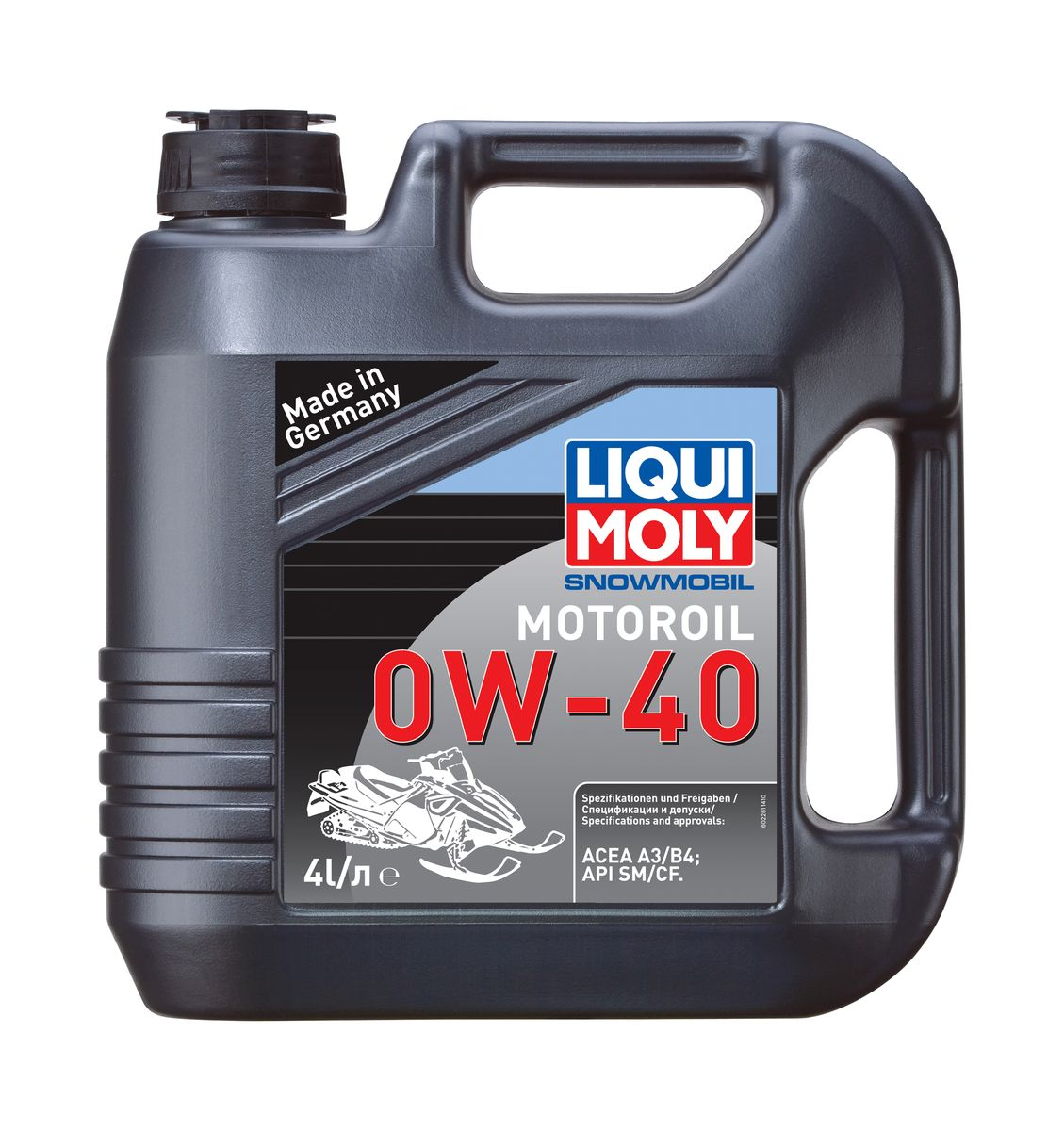 """Масло моторное Liqui Moly """"Snowmobil Motoroil"""", синтетическое, 0W-40, 4 л"""