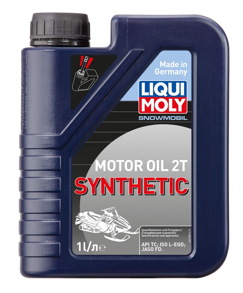 "Масло моторное Liqui Moly ""Snowmobil Motoroil 2T Synthetic"", синтетическое, 1 л"