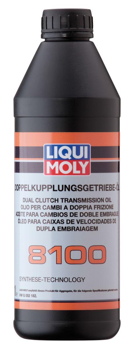 """Масло трансмиссионное Liqui Moly """"Doppelkupplungsgetriebe-Oil 8100"""", НС-синтетическое, 1 л"""