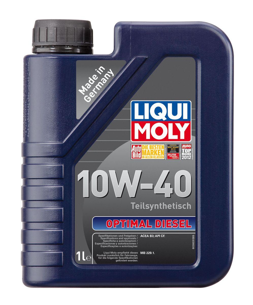 "Масло моторное Liqui Moly ""Optimal Diesel"", полусинтетическое, 10W-40, 1 л"