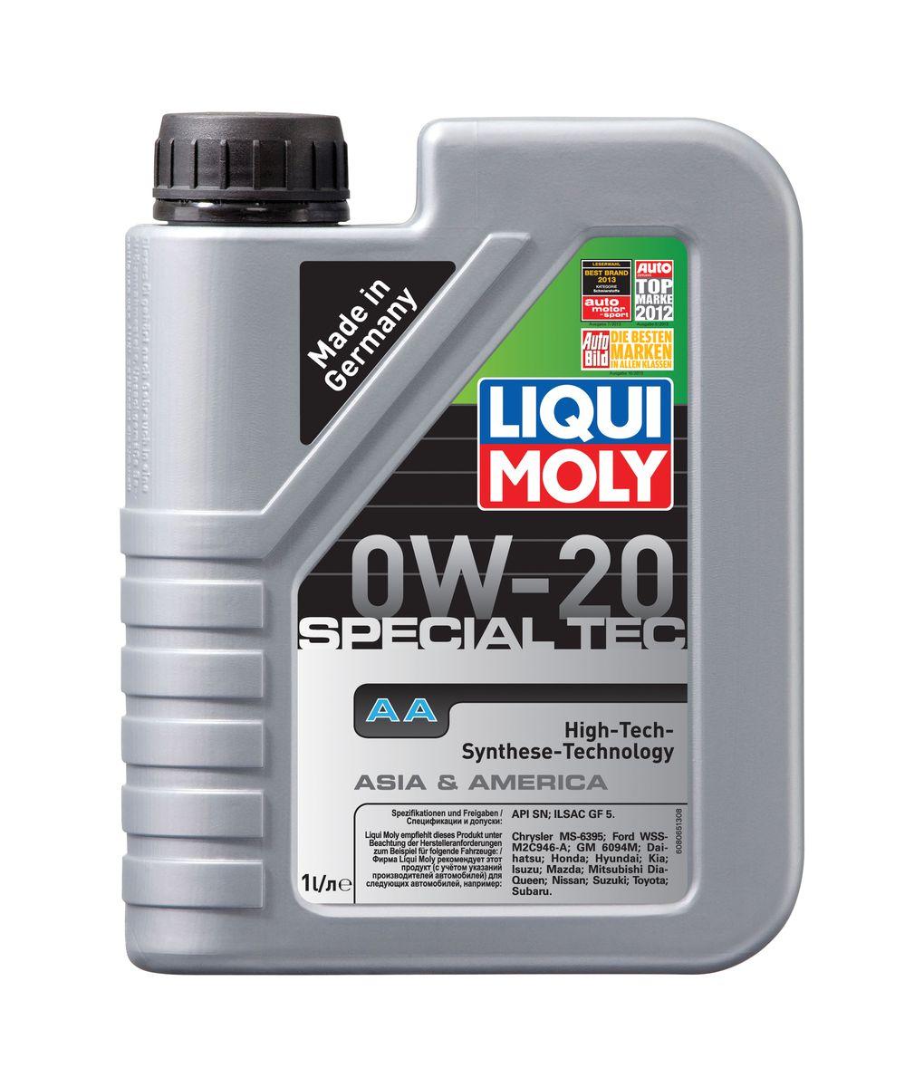 """Масло моторное Liqui Moly """"Special Tec AA"""", НС-синтетическое, 0W-20, 1 л"""