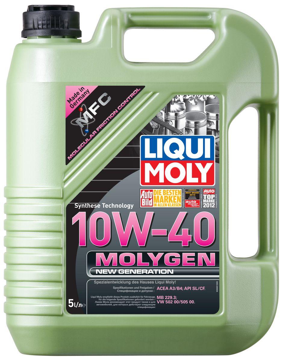 "Масло моторное Liqui Moly ""Molygen New Generation"", НС-синтетическое, 10W-40, 5 л"