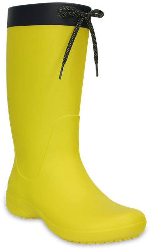 Фото - Резиновые сапоги Crocs сапоги резиновые женские crocs crocs crocs freesail shorty rainboot цвет желтый 203851 7c1 размер 5 35