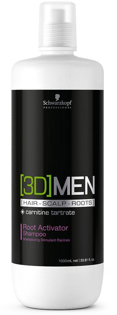 [3D]Men Шампунь активатор роста волос – очищение Root Activator Shampoo 1000 мл