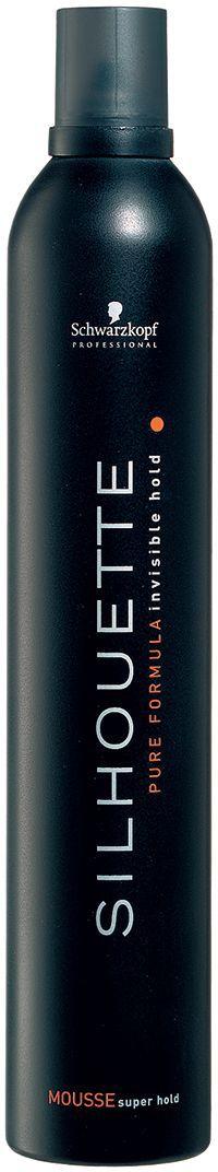 Silhouette Pure Безупречный мусс ультрасильной фиксации 500 мл силуэт спрей для волос ультрасильной фиксации 200 мл
