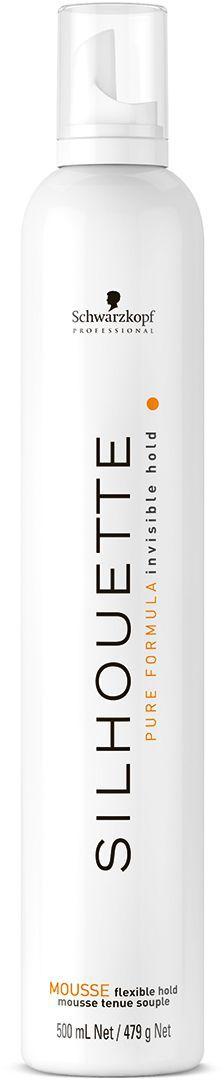 Silhouette Pure Безупречный мусс мягкой фиксации 500 мл