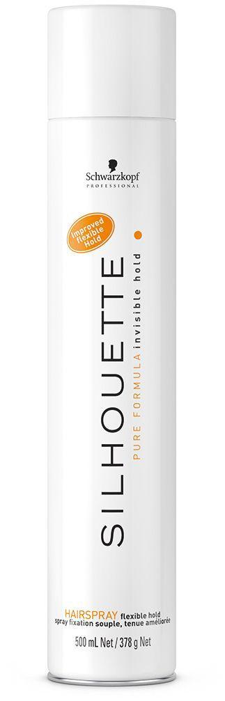 Silhouette Pure Hairspray Безупречный лак мягкой фиксации 500 мл