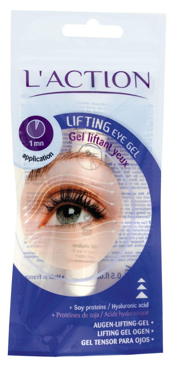 L'actionЛифтинг-гель для области вокруг глаз от морщин Lifting Eye Gel, 15 мл L'action