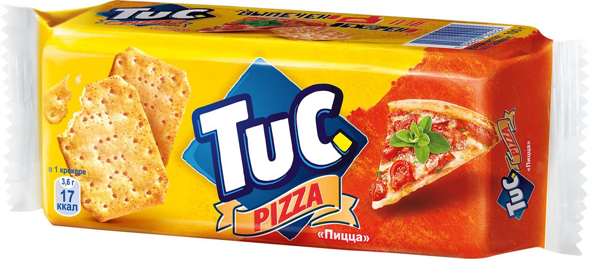 Tuc Крекер со вкусом пиццы, 100 г цена