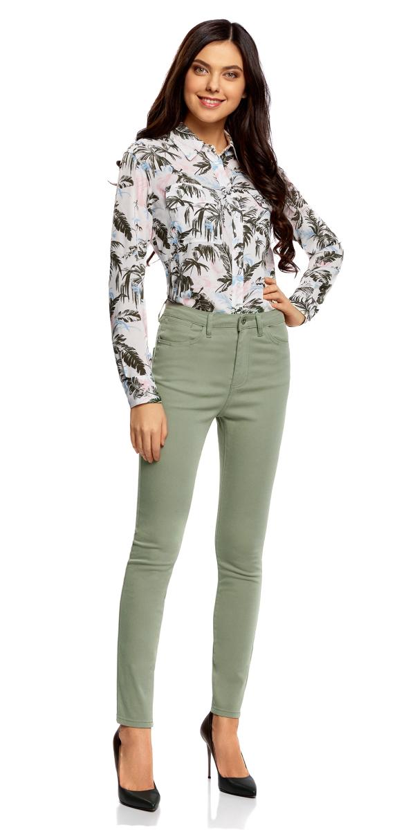 Джинсы oodji джинсы женские oodji ultra цвет синий джинс 12104060 3b 46260 7500w размер 26 30 42 30