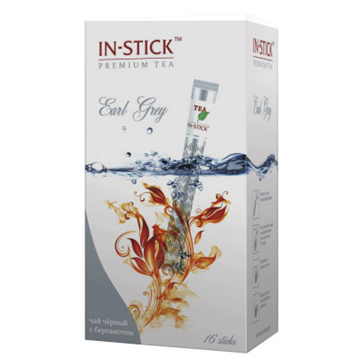 In-Stick чай индийский Эрл Грей в стиках, 16 шт стоимость