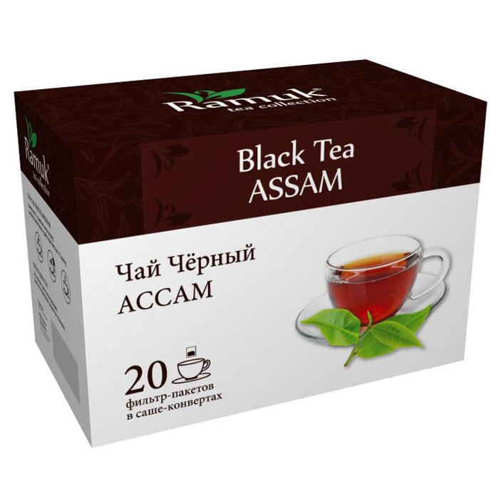 Ramuk чай черный в пакетиках, 20 шт