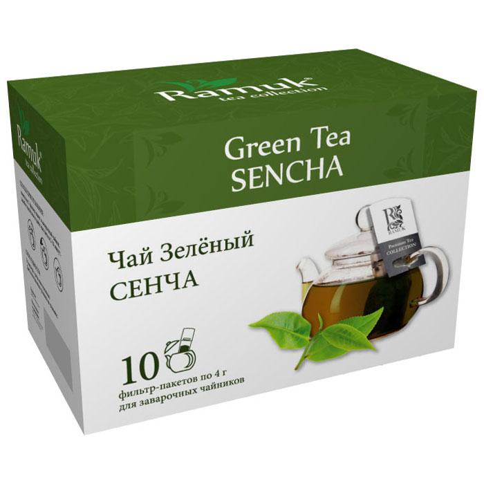 Ramuk чай зеленый, 10 шт