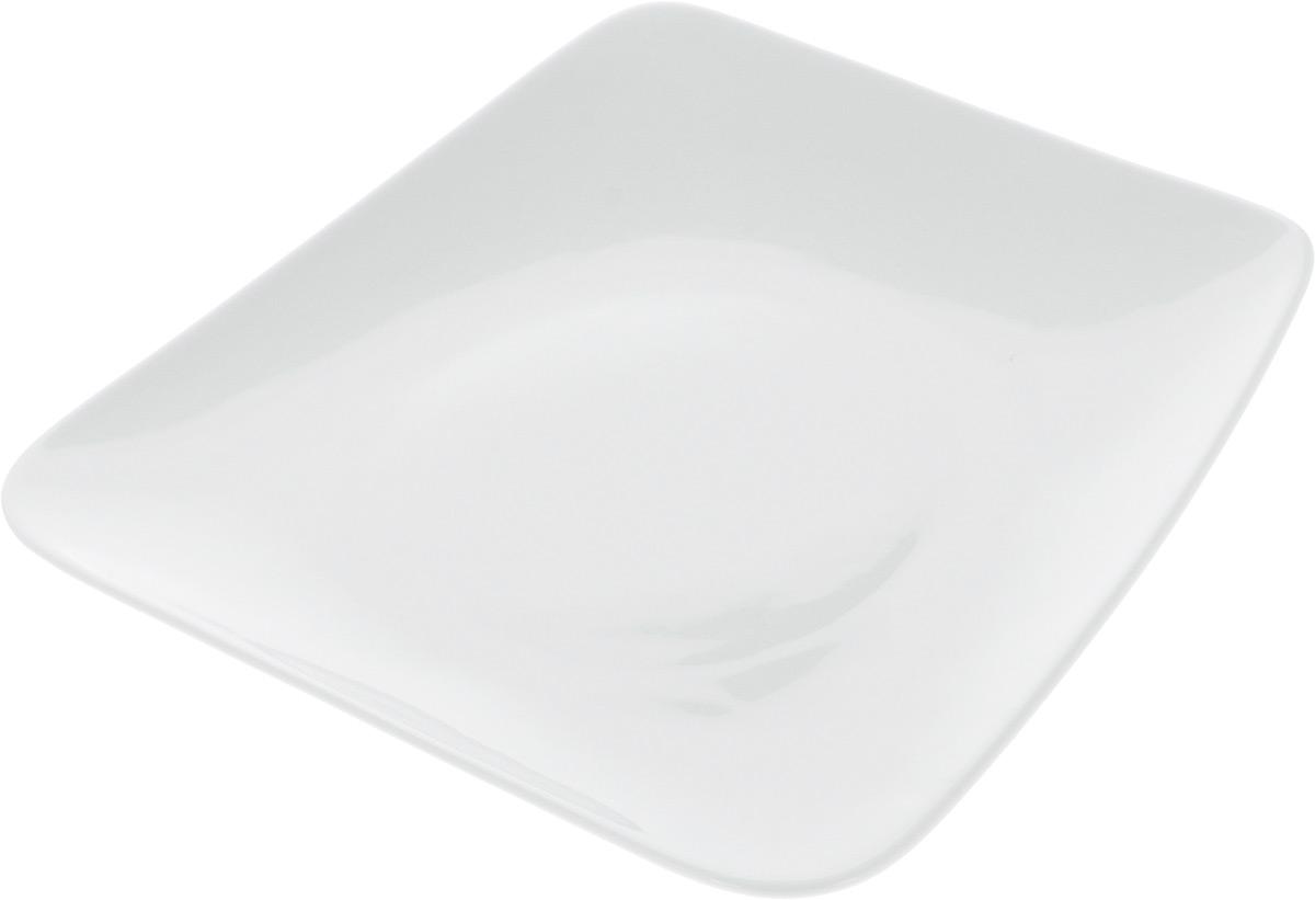 Тарелка Ariane Rectangle, 27,5 х 26 см солонка ariane rectangle 5 х 5 5 х 4 см