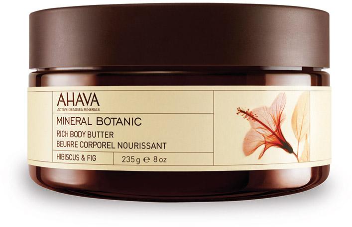 Ahava Mineral Botanic Насыщенное масло для тела гибискус и фига 235г масло для тела интенсивное увлажнение кедрово сливочное 300 мл