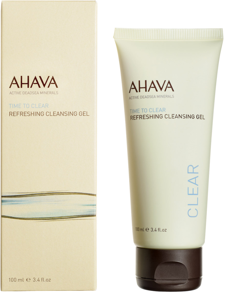 Ahava Time To ClearОсвежающий гель для очищения кожи 100 мл Ahava