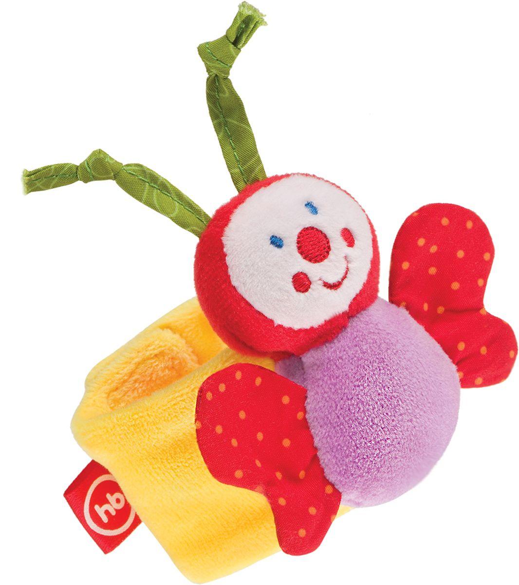 Фото - Happy Baby Браслет-погремушка Funny Butterfly браслет погремушка happy baby juicy strawberry