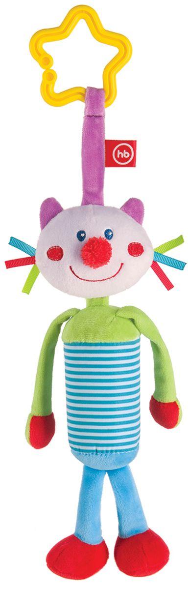 Подвесная игрушка-колокольчик Кот happy baby развивающая игрушка колокольчик perky kitty happy baby