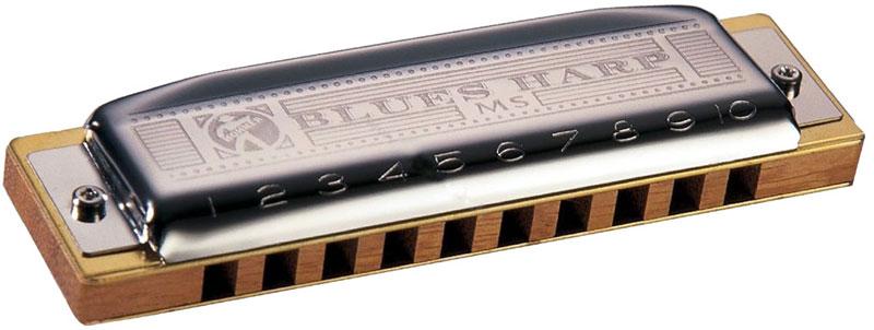 Hohner Blues Harp 532/20 MS A (M533106X) губная гармошка губная гармошка hohner silver star dnt 54127