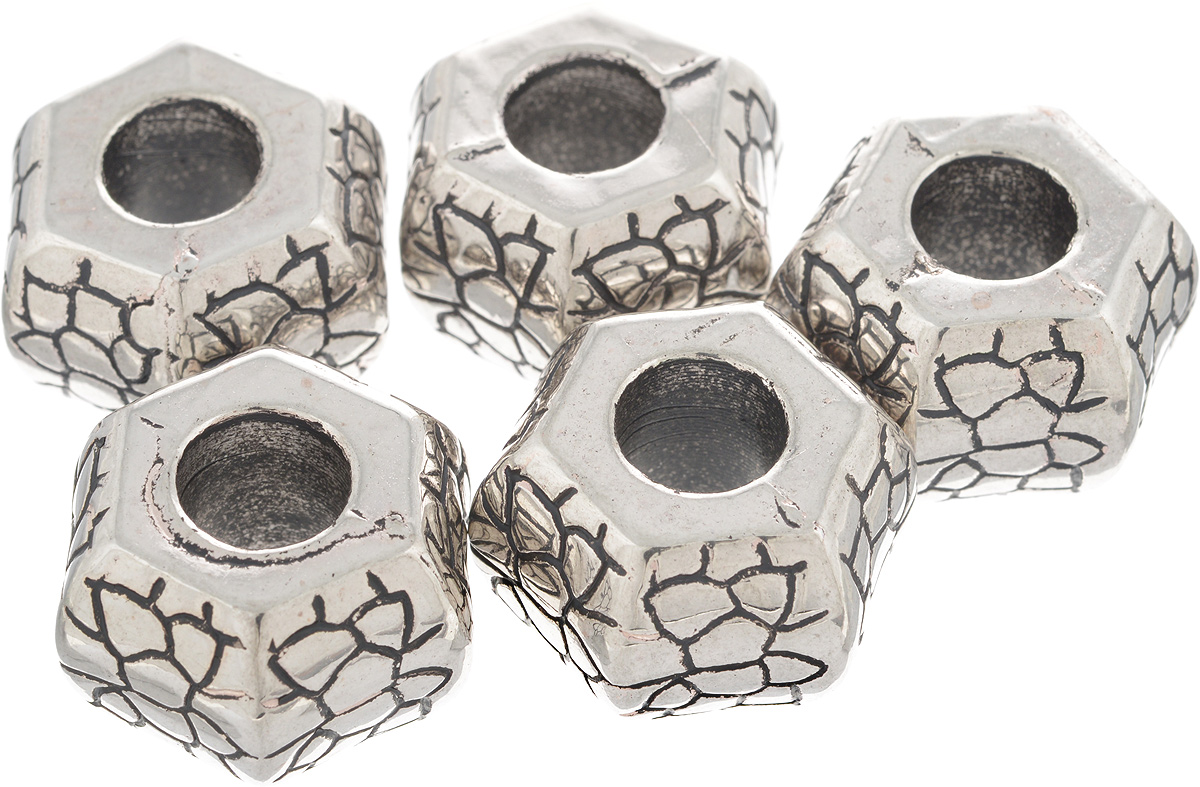 Бусины Астра, 25 х 13 х 16 мм, 5 шт7709518_ст.сереброБусины Астра, изготовленные из пластика, могут применяться в сборке украшений как отдельный элемент и позволит вам своими руками создать оригинальные ожерелья, бусы или браслеты. Изготовление украшений - занимательное хобби и реализация творческих способностей рукодельницы, это возможность создания неповторимого индивидуального подарка. Количество штук в упаковке: 5 шт, Размер бусин: 25 х 13 х 16 мм.