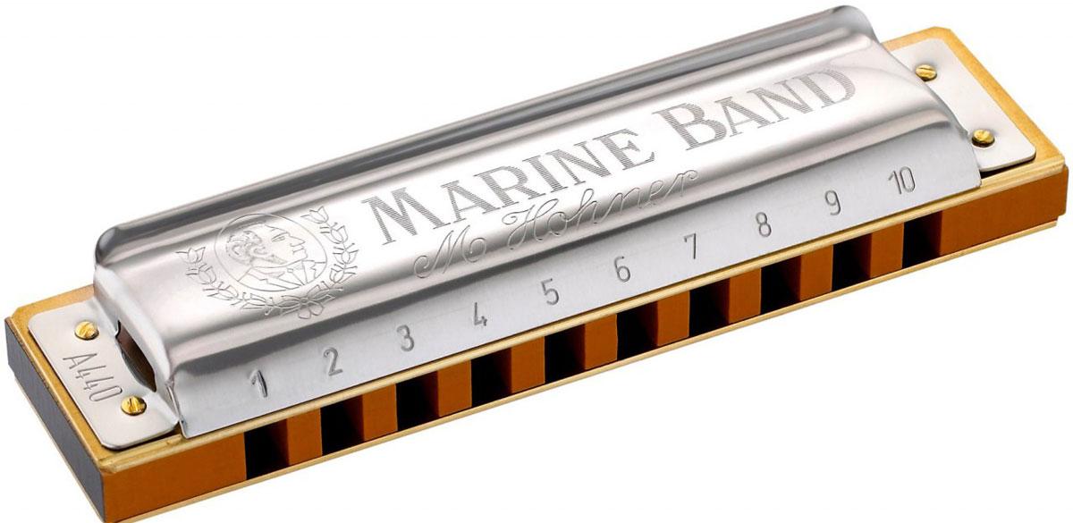 Hohner Marine Band 1896/20 A (M1896106X) губная гармошка цена