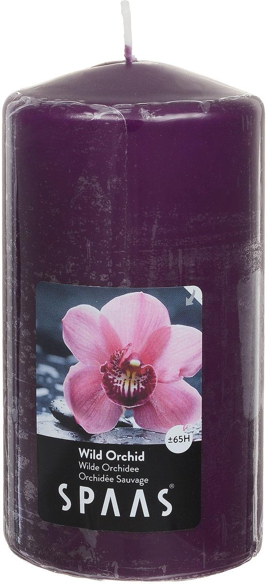 Свеча ароматизированная Spaas Дикая орхидея, высота 15 см свеча ароматизированная spaas дикая орхидея высота 15 см