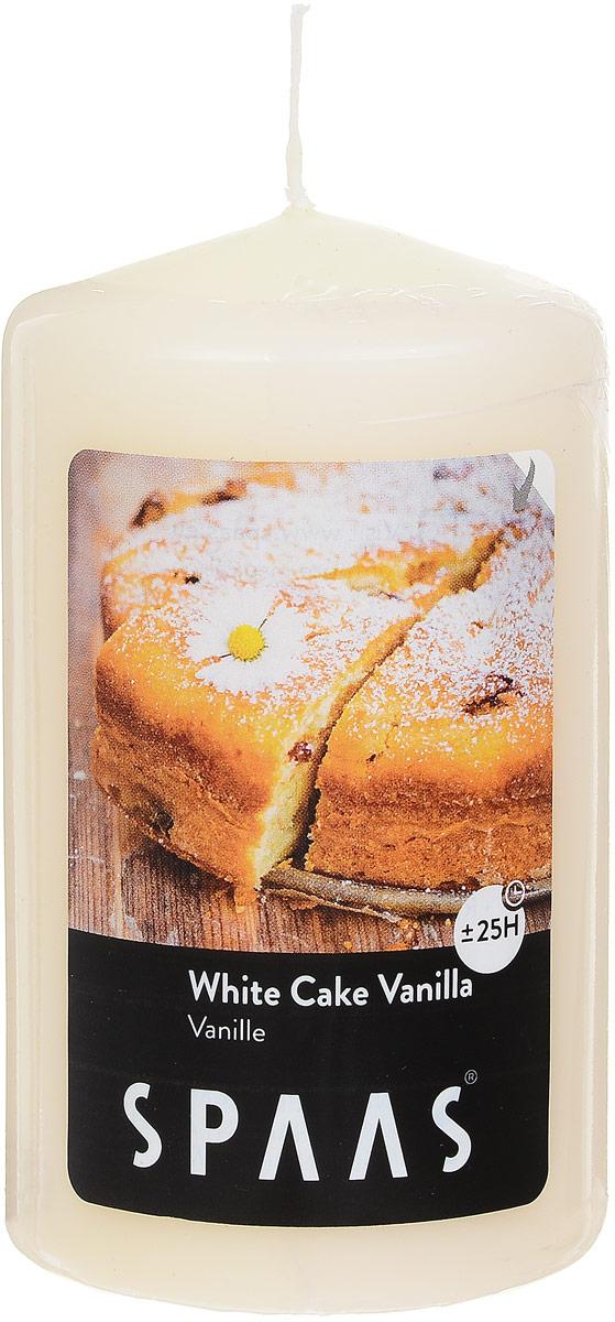 Свеча ароматизированная Spaas Ванильный пирог, высота 10 см свеча ароматизированная spaas ванильный пирог высота 15 см