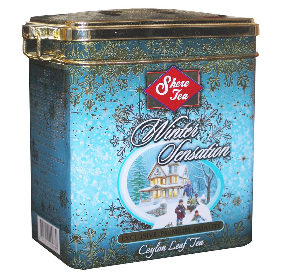 Shere Tea Зимнее настроение чай черный листовой, 250 г shere tea престижная коллекция pekoe чай черный листовой 250 г