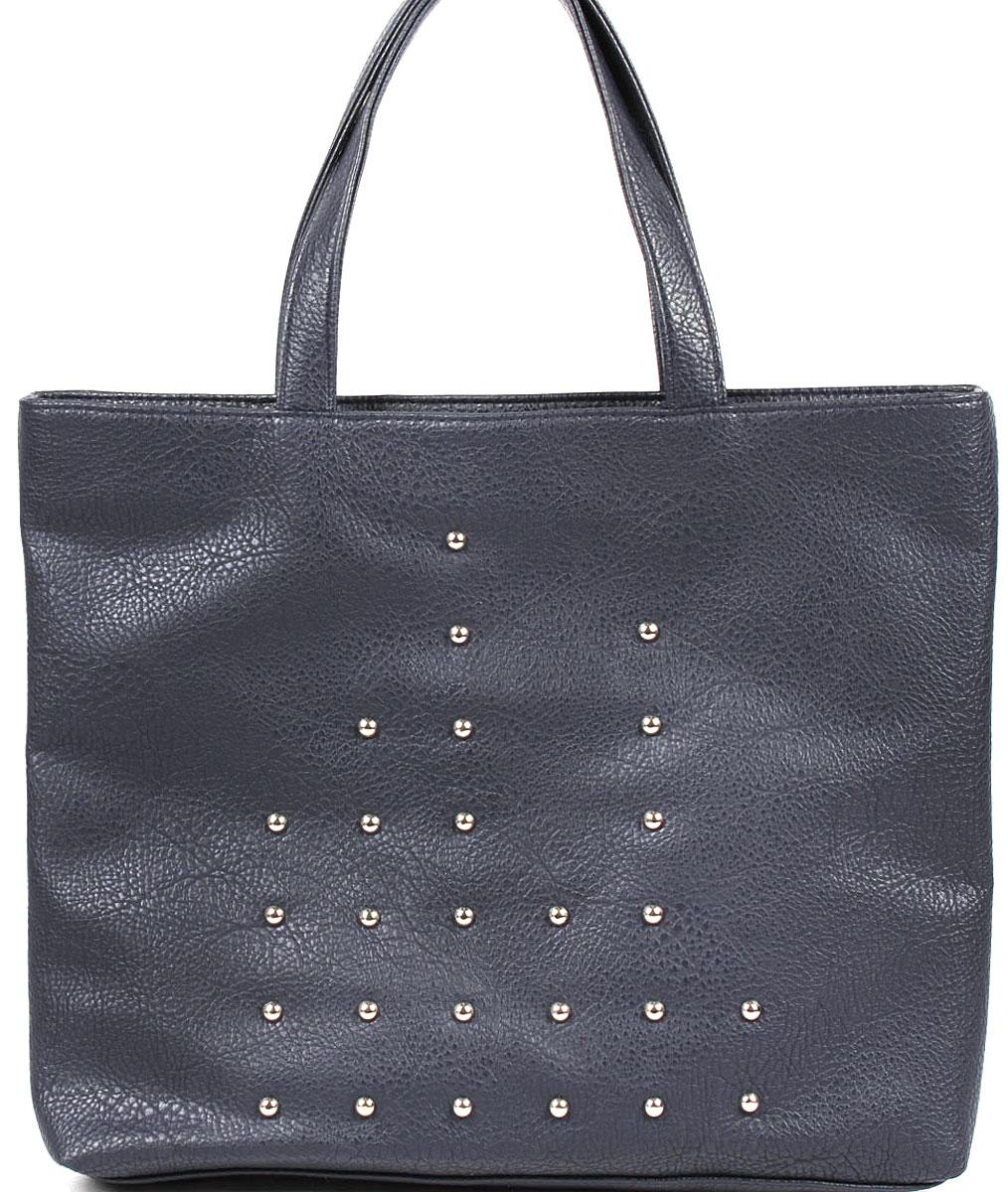 Сумка-шоппер женская Медведково, цвет: темно-синий. 16с3492-к14