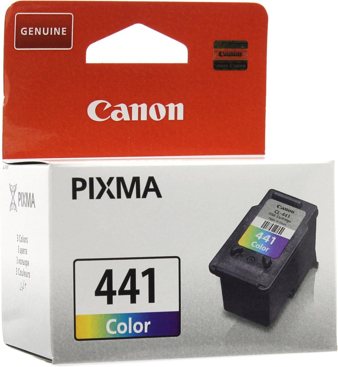 Canon CL-441CMY цветной картридж для струйных МФУ/принтеров цена