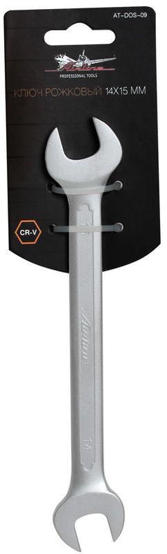 Ключ гаечный рожковый Airline, 14 х 15 мм ключ гаечный рожковый airline 17 х 19 мм