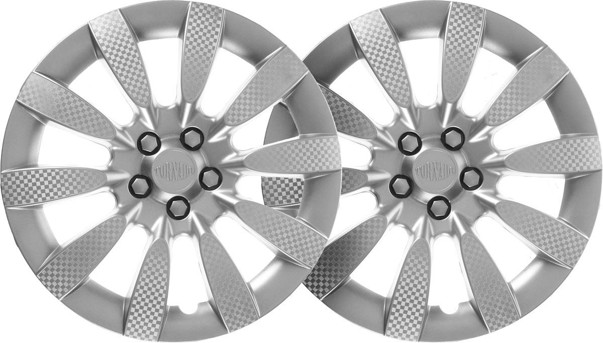 Колпаки колесные Airline Торнадо, цвет: серебристый, 13, 2 шт. AWCC-13-06 колпаки на колёса airline awcc 15 06