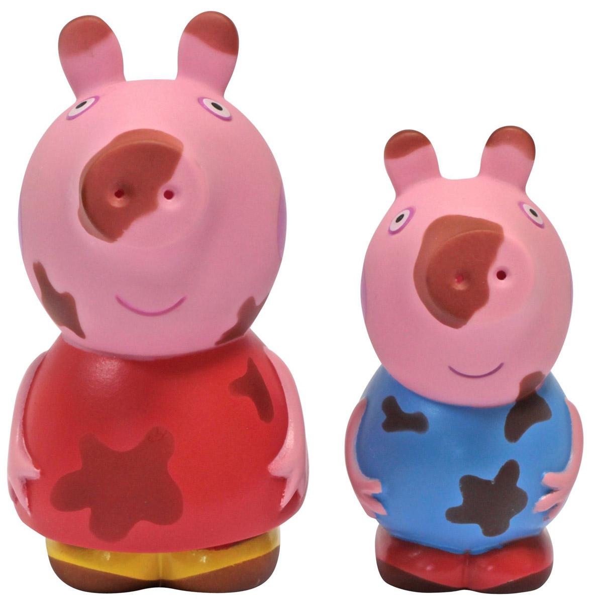 Peppa Pig Набор игрушек для ванной Грязнуля или Чистюля? жирафики набор игрушек для ванной лошадка и свинка