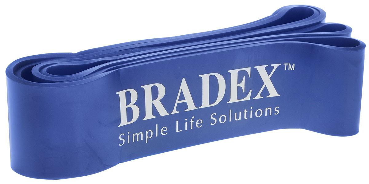 Эспандер-лента Bradex, ширина 6,4 см, 23-68 кг эспандер кольцевой bradex